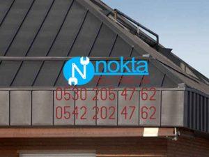 SANDVİÇ PANEL çatı sistemleri uygulaması
